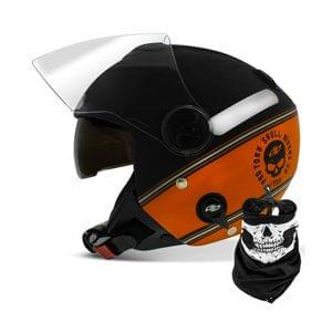 capacete-tumb-pro-tork-laranja-skull-riders-