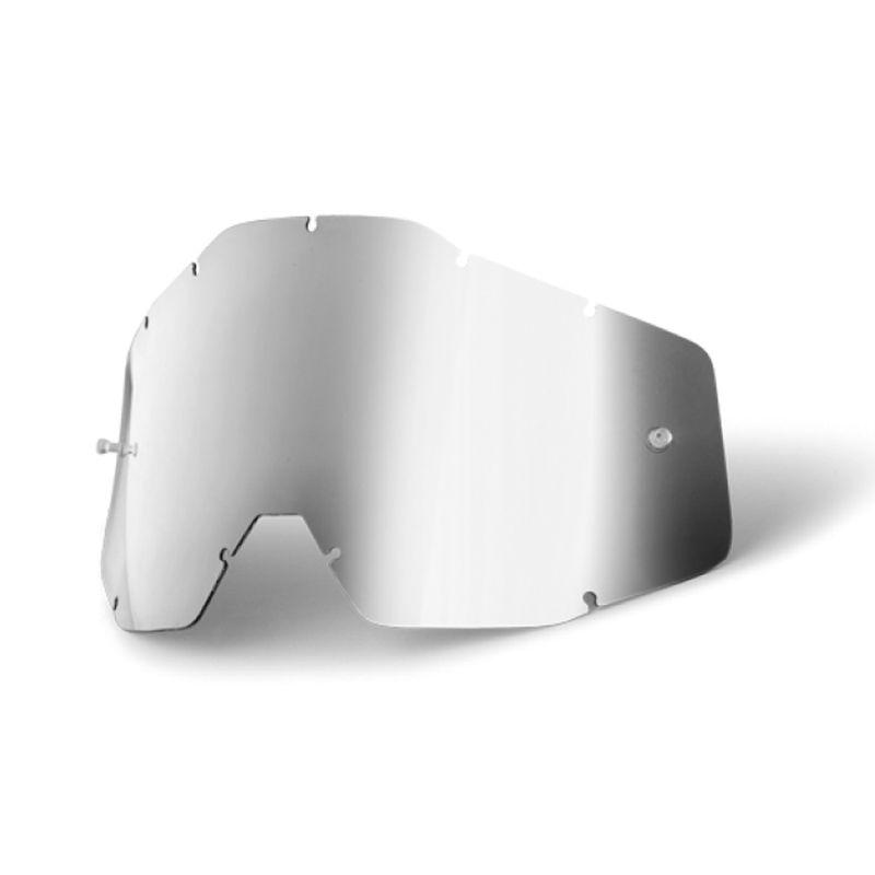 5f7ab6ce8a6a Lente Óculos 100% Anti Embaçante Racecraft Accuri Strata Espelhada