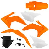 2095620085023_Kit_Plastico_Protork_com_Tampa_de_Bateria_CRF_230_2015_Laranja