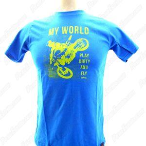 camiseta_infantil_play_dirty_azul