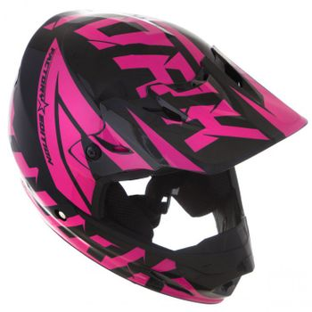 60cf5f985ba16 Capacete Pro Tork TH1 Factory Edition - Preto e Rosa - Mobile