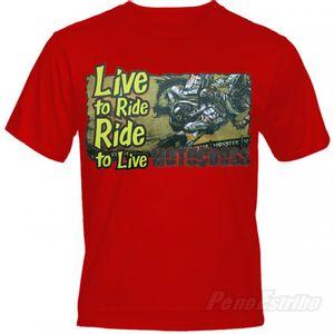 Camiseta Live Moto Show