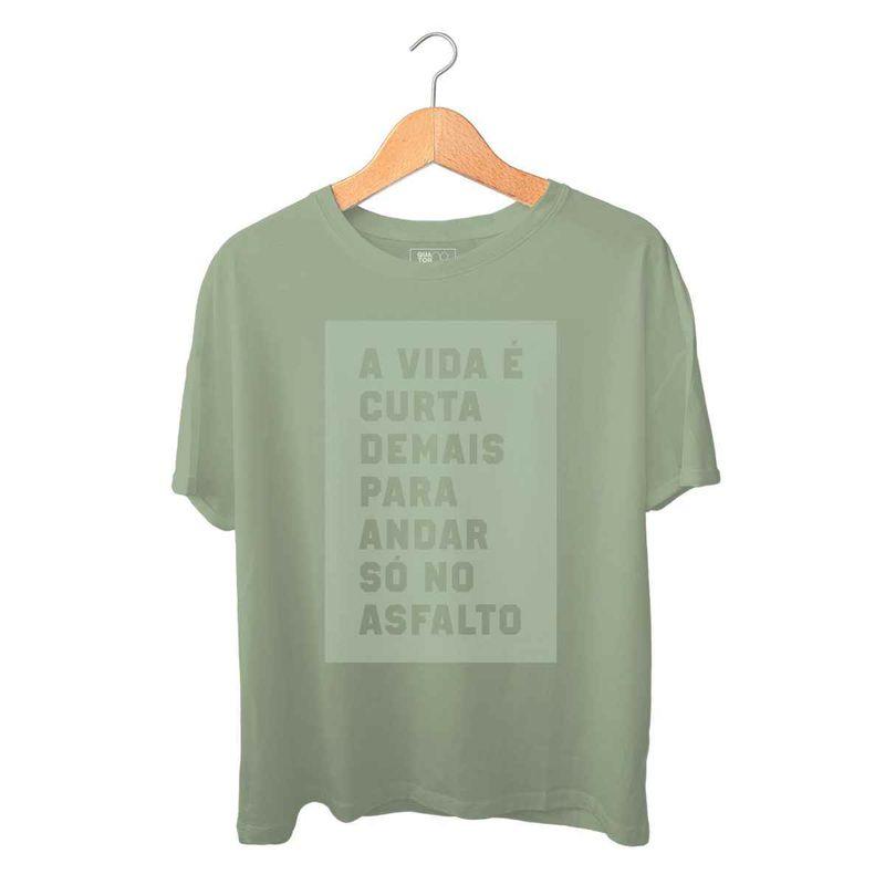 42a28a77a940 Camiseta a vida é curta quatorze 08 - Mobile