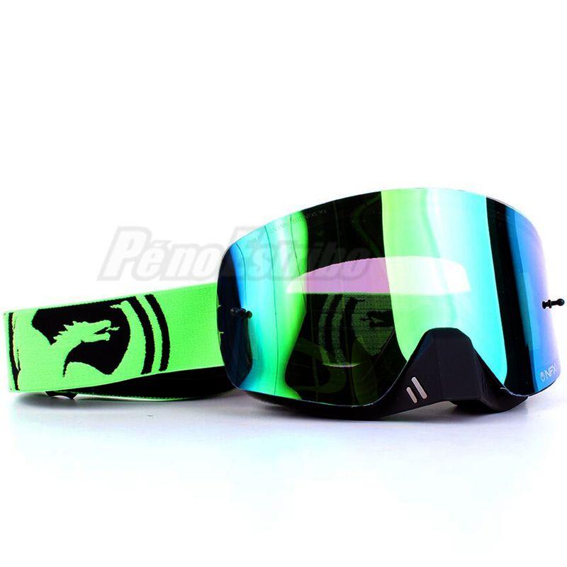 e3f80821aef85 Óculos DRAGON NFX-S Verde Preto Split com Lente Verde Espelhada e ...