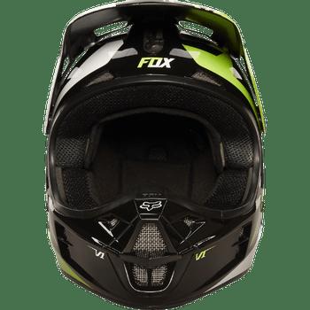f92ca7c8f5627 Capacete FOX V1 Race NBR - Preto Verde - Mobile