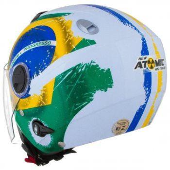 Capacete PRO TORK New Atomic Brasil - Mobile b24e5eb3aa1