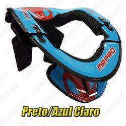 2054401515029_Protetor_de_pescoco_Neck_Brace_MRPRO_preto_azul_claro